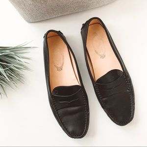 Tod's Gommini Driving Moccasin Loafer Black